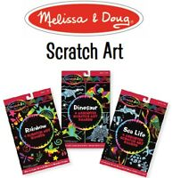 Melissa and Doug Scratch Art Childrens Craft Kits - Buy 1, get 1 for 20% off