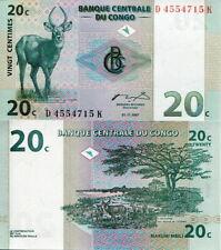 CONGO - 20 centimes 1997 FDS - UNC