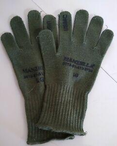 Olive Manzella USMC TS-40 Gloves Large New