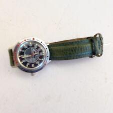 U-Boot Uhr mechanisch mit Handaufzug Sekundenanzeige. Lederarmband