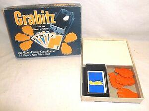 Vintage Grabitz 1979 Hand Slap Action Family Card Game