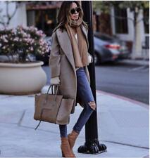 Zara Wrap Wool Blend Coats & Jackets for Women