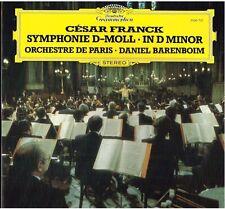 Franck: Sinfonia In Re Minore / Daniel Barenboim, Orchestre De Paris - LP DGG