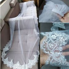 2 Tier 3M Wedding Veil (Color: Ivory)
