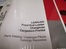 Case L600 L650 Front End Loader Parts Catalog