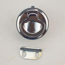"ONE Piece Marine Boat Deck Hatch 1.5"" Flush Pull Latch Lock Serviceable"