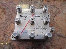 REGAL 8-WAY VERTICAL DROP SPLITTER – Model DDS8DGV10