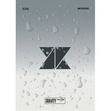 KNK - [Gravity, Complete] Repackage Album CD+Poster+Photocard+Stand Paper Sealed