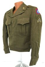 1949 Us 5th Army Enlisted Soldiers Ike Jacket