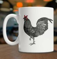 Chicken With Bandana Mug Red Bandana Chicken Mug Cute Chicken Mug Gangsta