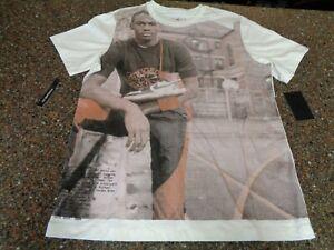 Nike Air Jordan Men's Large 1984 Retro Schoolyard Picture SS T-Shirt NWT Jumpman