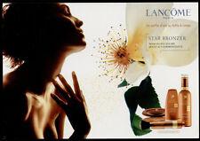 cartolina pubblicitaria PROMOCARD n.3720 LANCOME PARIS STAR BRONZER