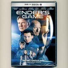 Ender's Game 2013 PG-13 family sci-fi action movie new DVD Harrison Ford Breslin