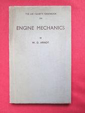 Air Cadet's Handbook Engine Mechanics Part 1 W D Arnot 1942   hbdj book