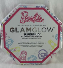 GLAMGLOW Barbie Limited Edition SUPERMUD Clearing Instant Treatment Mask 1.7 Oz