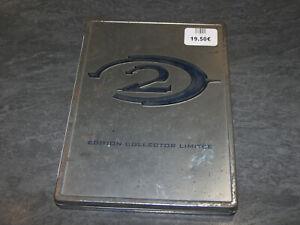JEU XBOX HALO 2 STEELBOOK METAL EDITION COLLECTOR LIMITEE BUNGIE OCCASION 2CD
