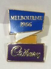 MELBOURNE SUMMER OLYMPIC GAMES 1956 OFFICIAL CADBURY PIN BADGE #545