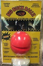 BIG BUCK BALLZ ~ Scent Dispersal System & Camera Aid  ~ New in Pkg ~ Free Ship