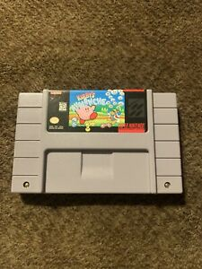 Kirby's Avalanche Super nintendo SNES authentic cartridge only