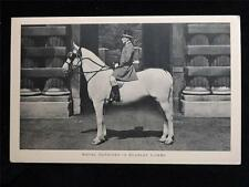 OLD POSTCARD OF ROYAL OUTRIDER IN SCARLET LIVERY - UNUSED