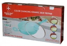 Royalty Line Ceramic Colour Changing Deep Fry Pan 2 Colours 28 inch