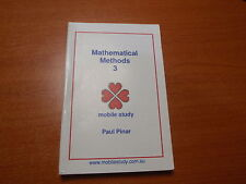 VCE Mathematical Methods Unit 3 Maths Secondary School Textbook Study Guide New