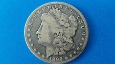 1892 CC Morgan Silver Dollar - Minted in Carson City