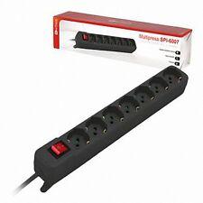 multipresa elettrica 7 posti keyteck ciabatta schuko  mod. spi-6007
