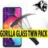 Für Samsung Galaxy A20e A50 A40 A70 1/2x 9H gehärtetem Glas Displayschutzfolie