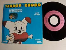 "TCHAOU et GRODO, B.O. feuilleton TV / Marie 7"" 45T 1980 NARCISSE CARRERE 13.310"