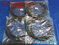 TOYOPET TOYOTA CORONA RT40  4 DOOR weatherstrip seal  Complate set
