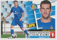 N°05A ALBERTO LOPO GARCIA # ESPANA GETAFE.CF STICKER PANINI ESTE LIGA 2014
