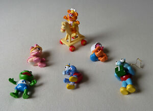 Muppet Babies Figures & Fozzies Rocking Horse - McDonalds Happy Meal Toys (1986)