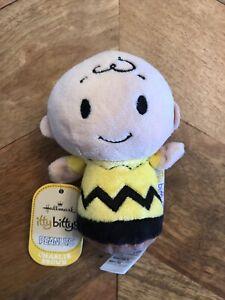 Itty Bittys Charlie Brown Peanut Hallmark