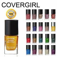 COVERGIRL Stay Brilliant OUTLAST Polish/Color NAIL GLOSS New! *YOU CHOOSE*