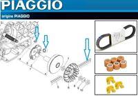 Kit Révision Courroie galets Guides D'Origine Piaggio X7 X8 X9 Xevo X10 125 4T