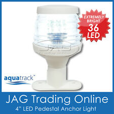 "12V 36-LED 4"" WHITE ANCHOR PEDESTAL WHITE LIGHT-Boat/Navigation/Stern/Masthead"