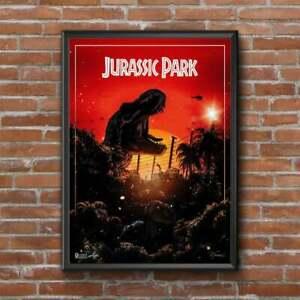 Poster 24x36 Jurassic Park Movie Poster  Home Decoration  -  No Frame