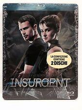 INSURGENT - BLU RAY - BLU RAY 3D - edizione steelbook - 2 dischi