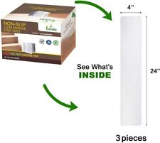Trendix Non Slip Clear Tapes 3 pieces Peva PVC Free