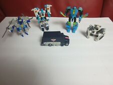 Hasbro transformers lot of 10 action figures used good