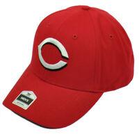 MLB Cincinnati Reds Curved Bill Hat Cap Adjustable Semi Constructed Baseball