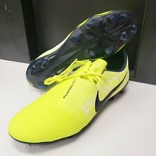 Nike Phantom Venom Pro FG Volt Green Soccer Cleats AO8738-717 Men's size 13