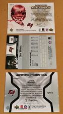 Lot Of 3 Different Chris Sims Jersey Patch Football Trading Cards
