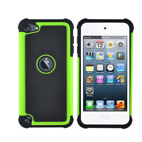 Hot Triple ShockProof Silicon Case Cover For IPod Touch 4th Generation Gen HGUK