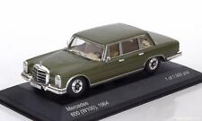 MERCEDES BENZ 600 W100 1964 GREEN METAL WHITEBOX WB176 1/43 GRUN VERT VERDE