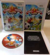 Console Gioco Game NINTENDO WII PAL UK Con ITA - ACADEMY OF CHAMPIONS FOOTBALL -