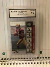 2005 UPPER DECK#2 ROOKIE PREMIERE ALEX SMITH GRADED 10