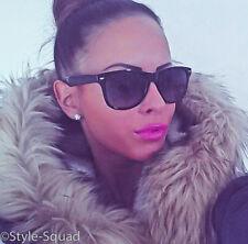 Large Classic Square Glossy WaYfe Designer Fashion Diva Sunglasses 866