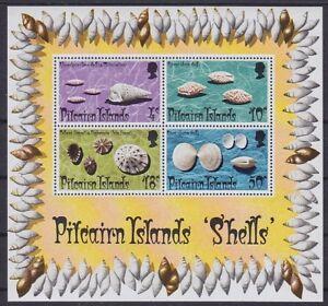 Muscheln Shell Pitcairn Block 1 **, Australien, postfrisch, MNH